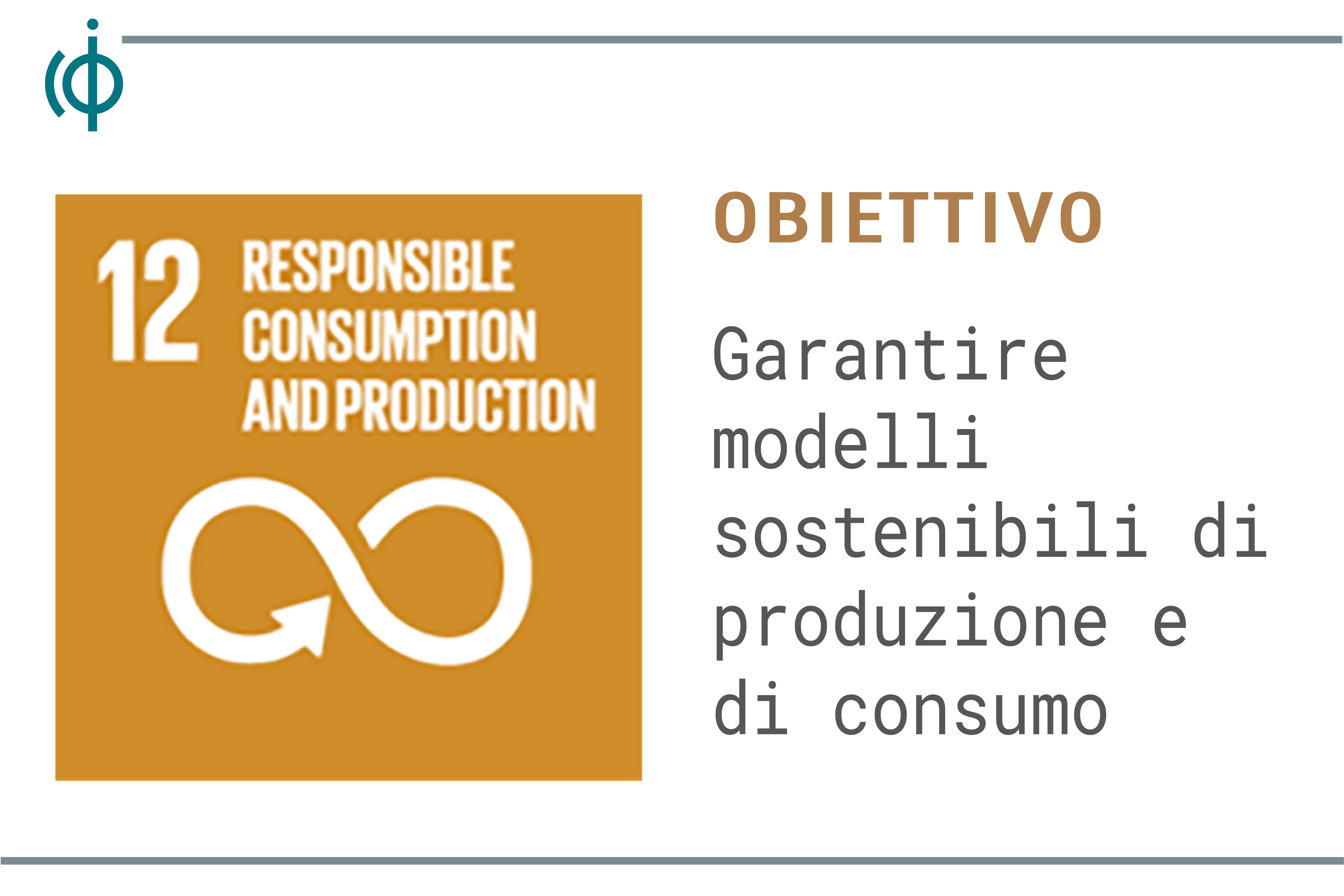 consumo e produzione responsabile